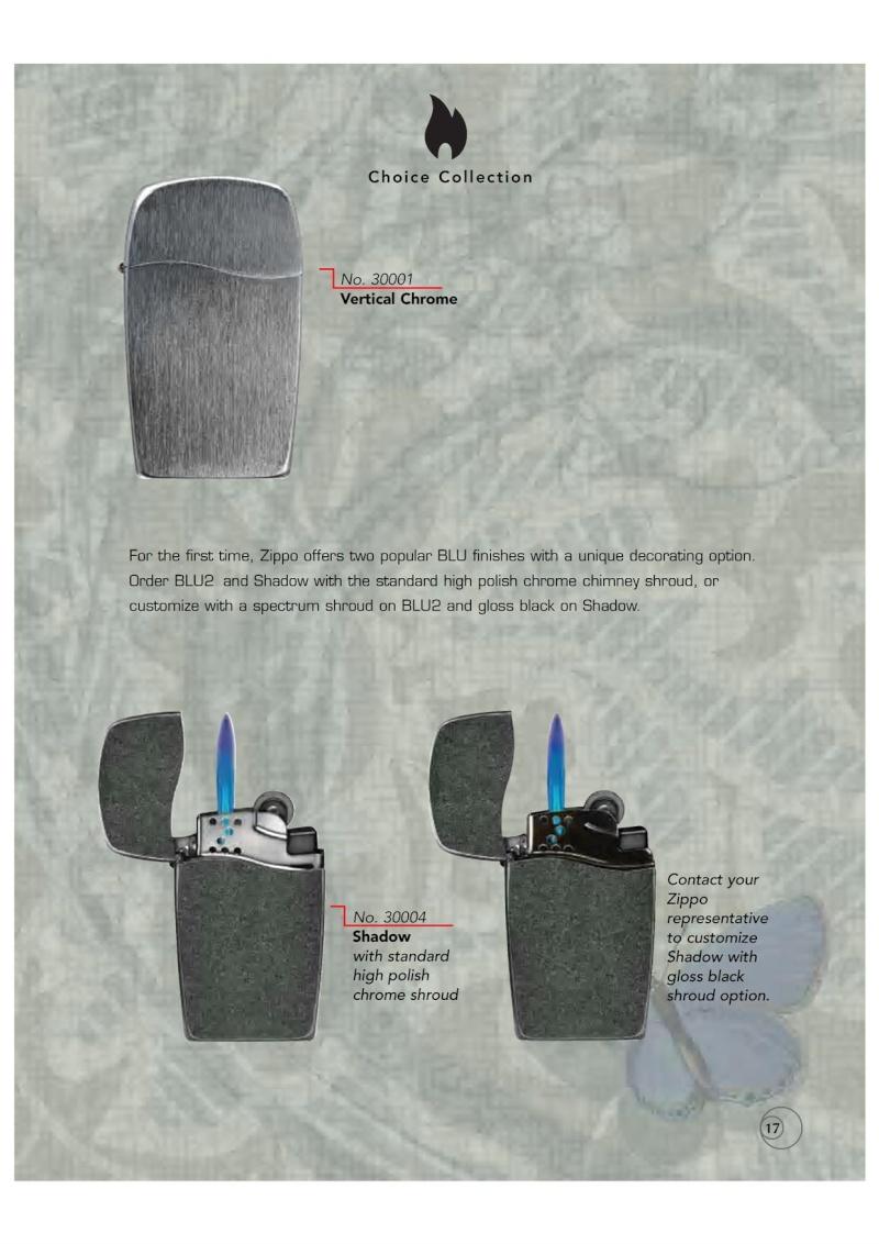 Catalogue ZIPPO 2009/10 Choice (version américaine) 1716