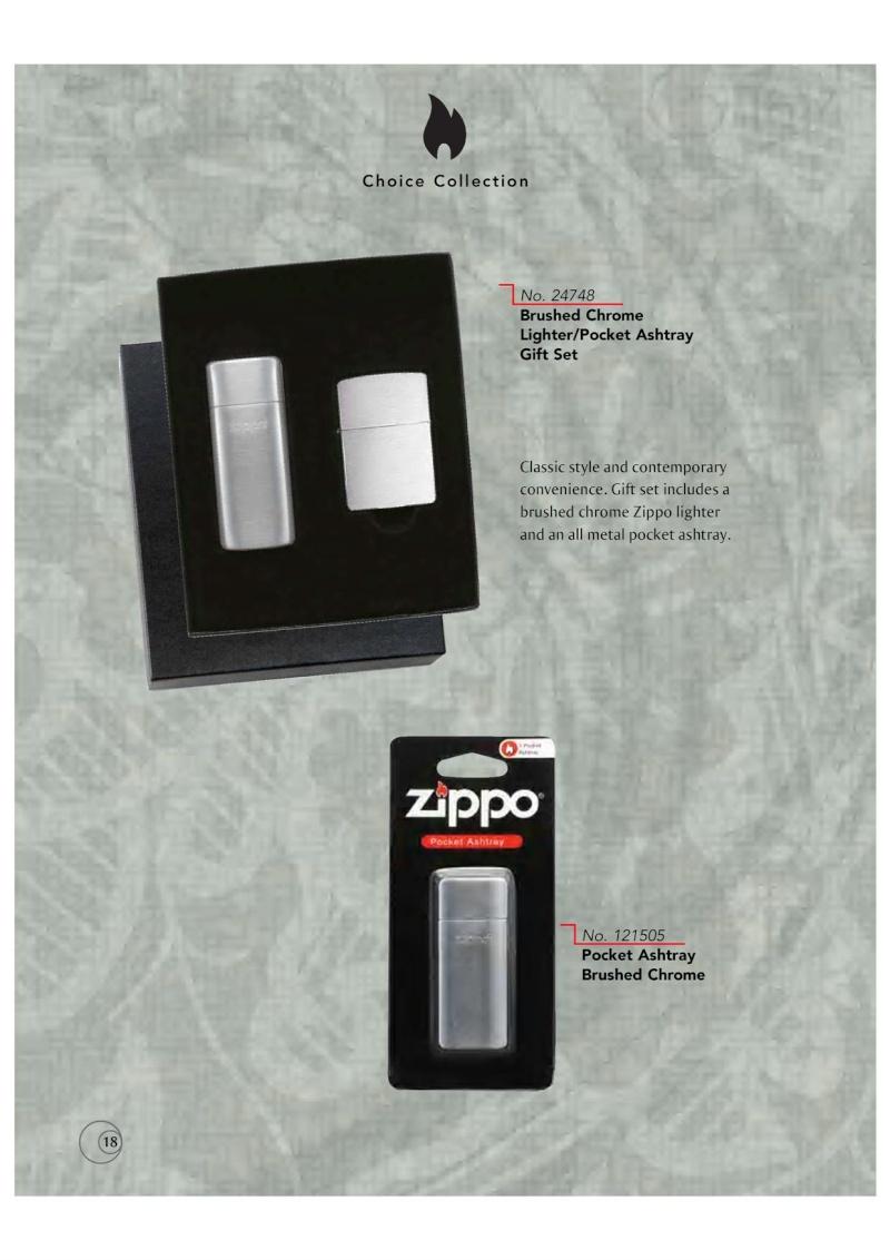 Catalogue ZIPPO 2009/10 Choice (version américaine) 1814