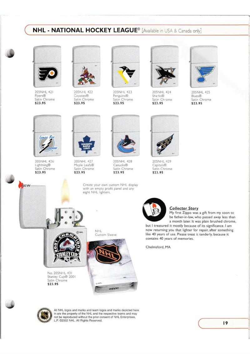 Catalogue ZIPPO Collection 2002 (version américaine) 1917