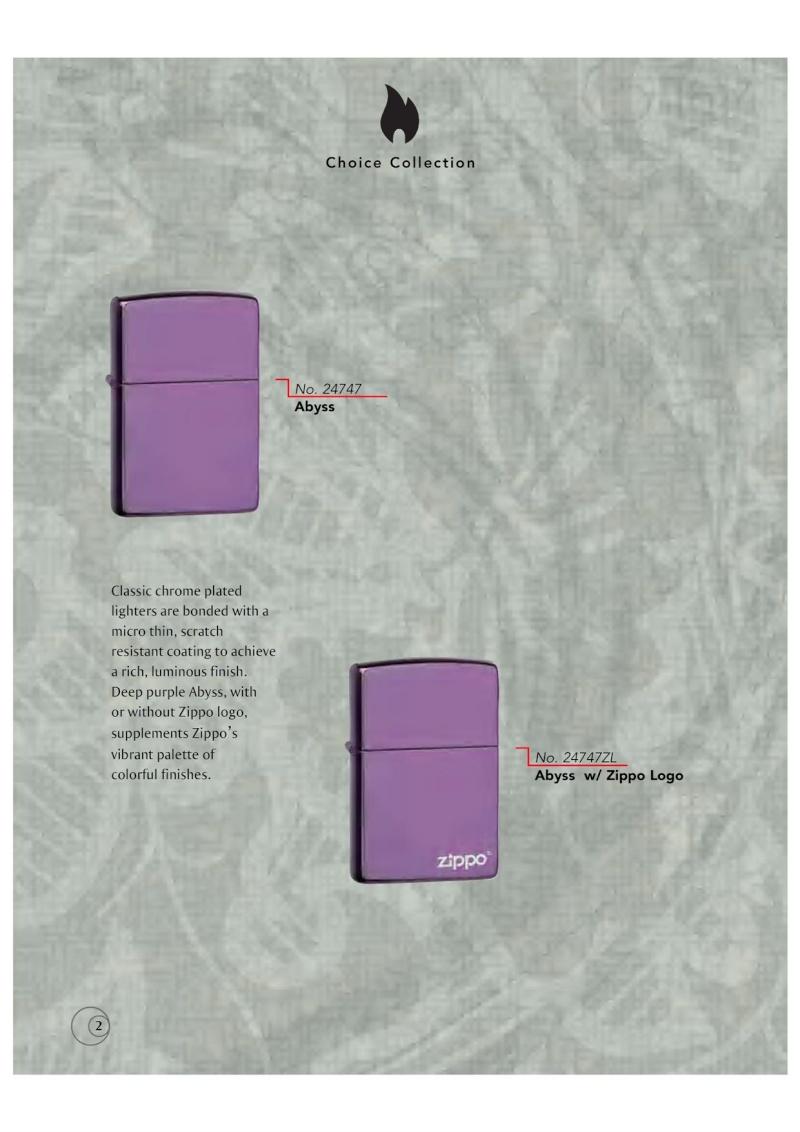 Catalogue ZIPPO 2009/10 Choice (version américaine) 211