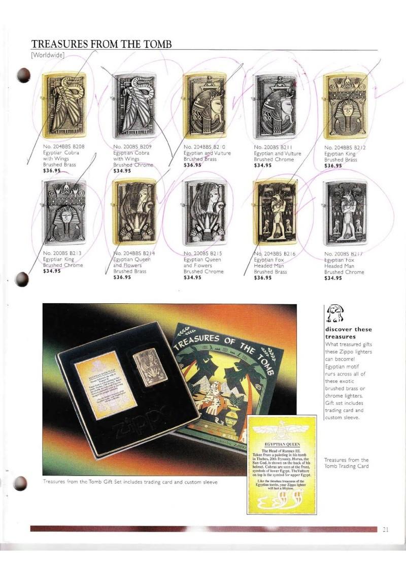 Catalogue ZIPPO Collection 2000 (version américaine) 2115