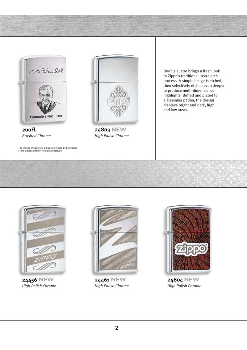 Catalogue ZIPPO 2010 Complete line (version américaine) 213