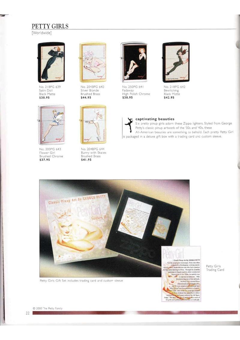 Catalogue ZIPPO Collection 2000 (version américaine) 2215