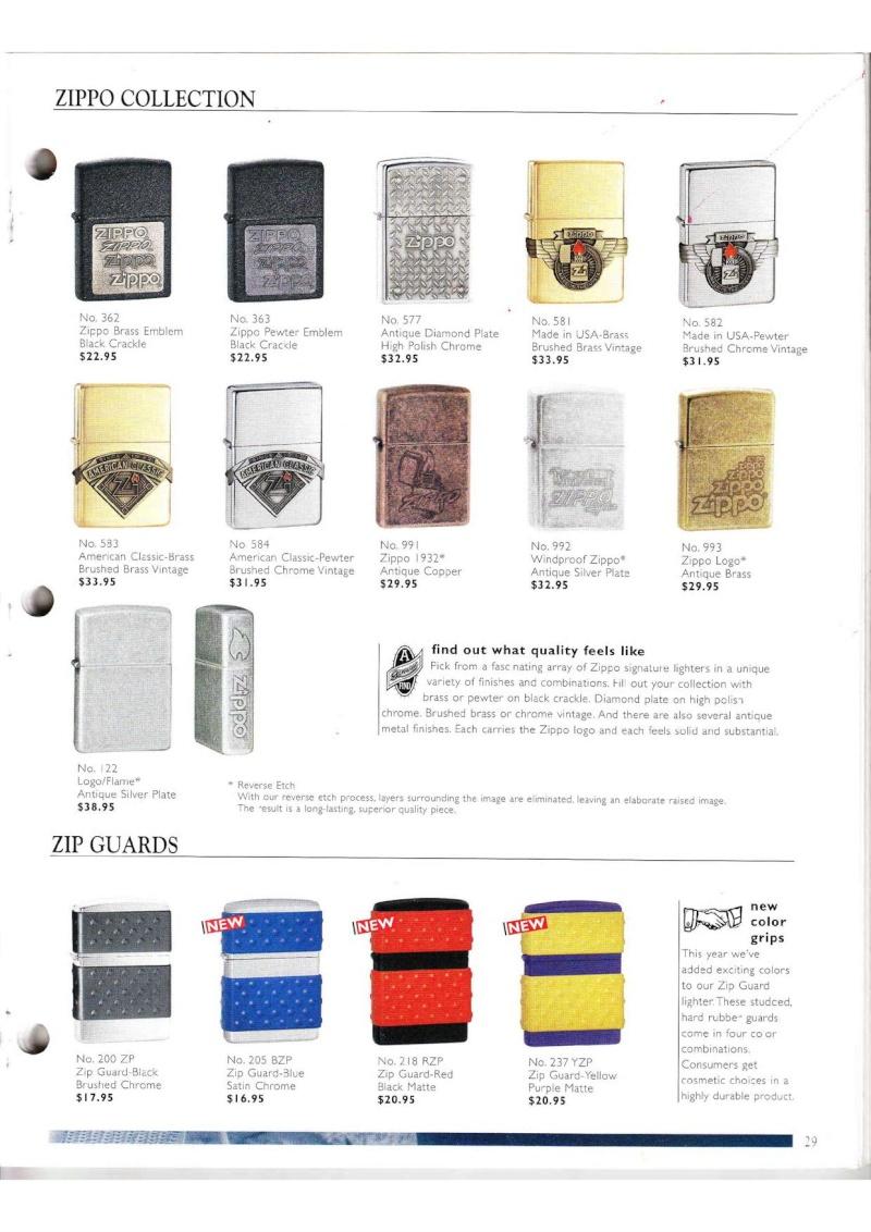 Catalogue ZIPPO Collection 2000 (version américaine) 2914