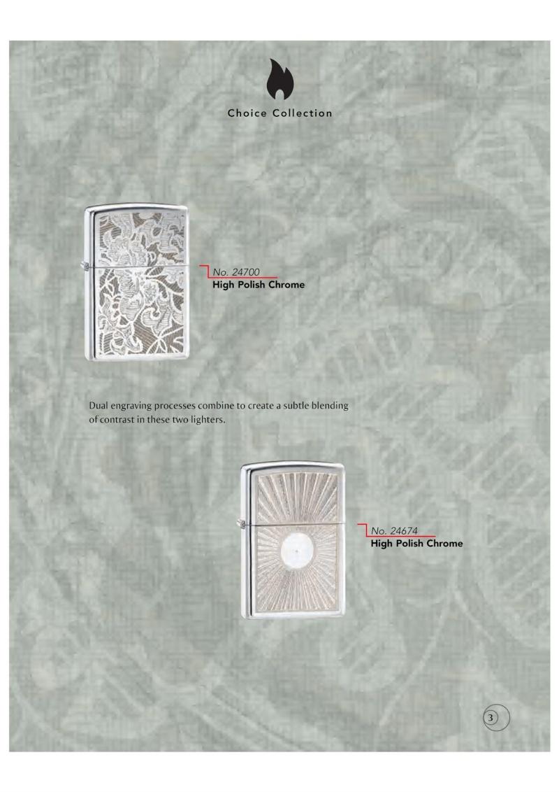 Catalogue ZIPPO 2009/10 Choice (version américaine) 311