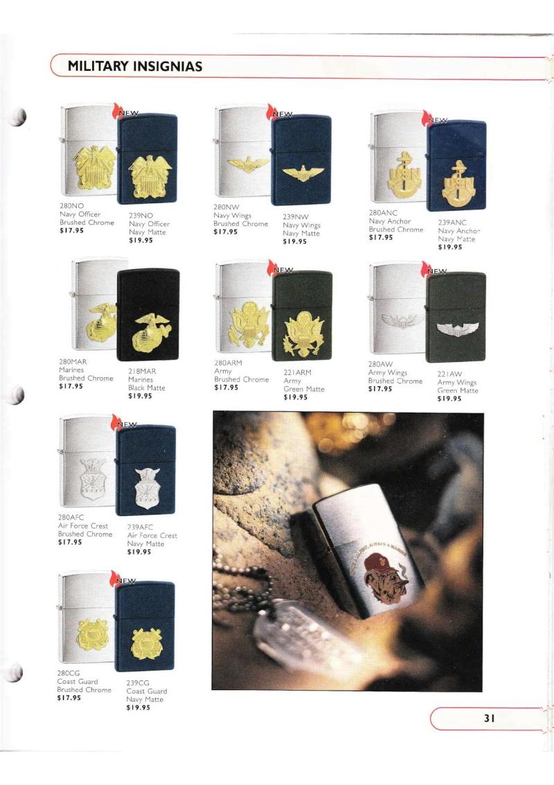 Catalogue ZIPPO Collection 2002 (version américaine) 3115