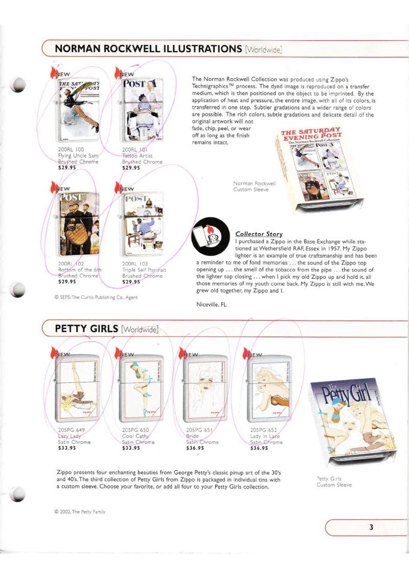 Catalogue ZIPPO Collection 2002 (version américaine) 315