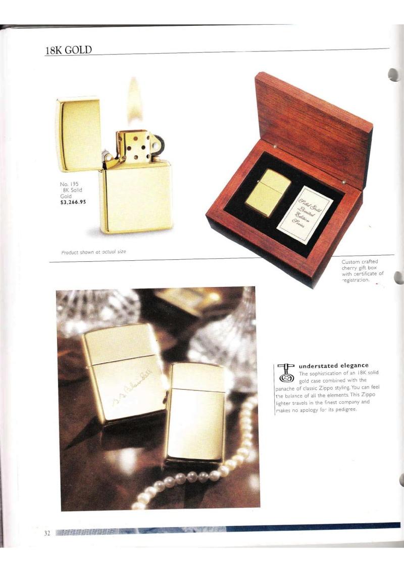 Catalogue ZIPPO Collection 2000 (version américaine) 3214