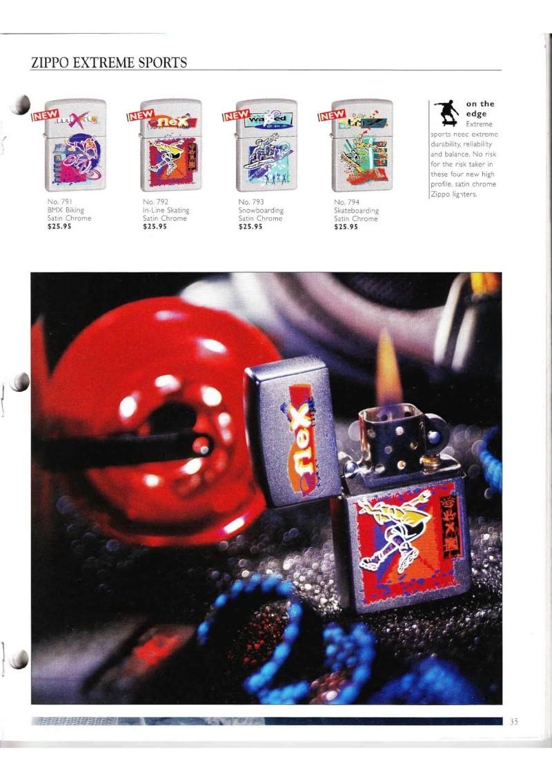 Catalogue ZIPPO Collection 2000 (version américaine) 3514