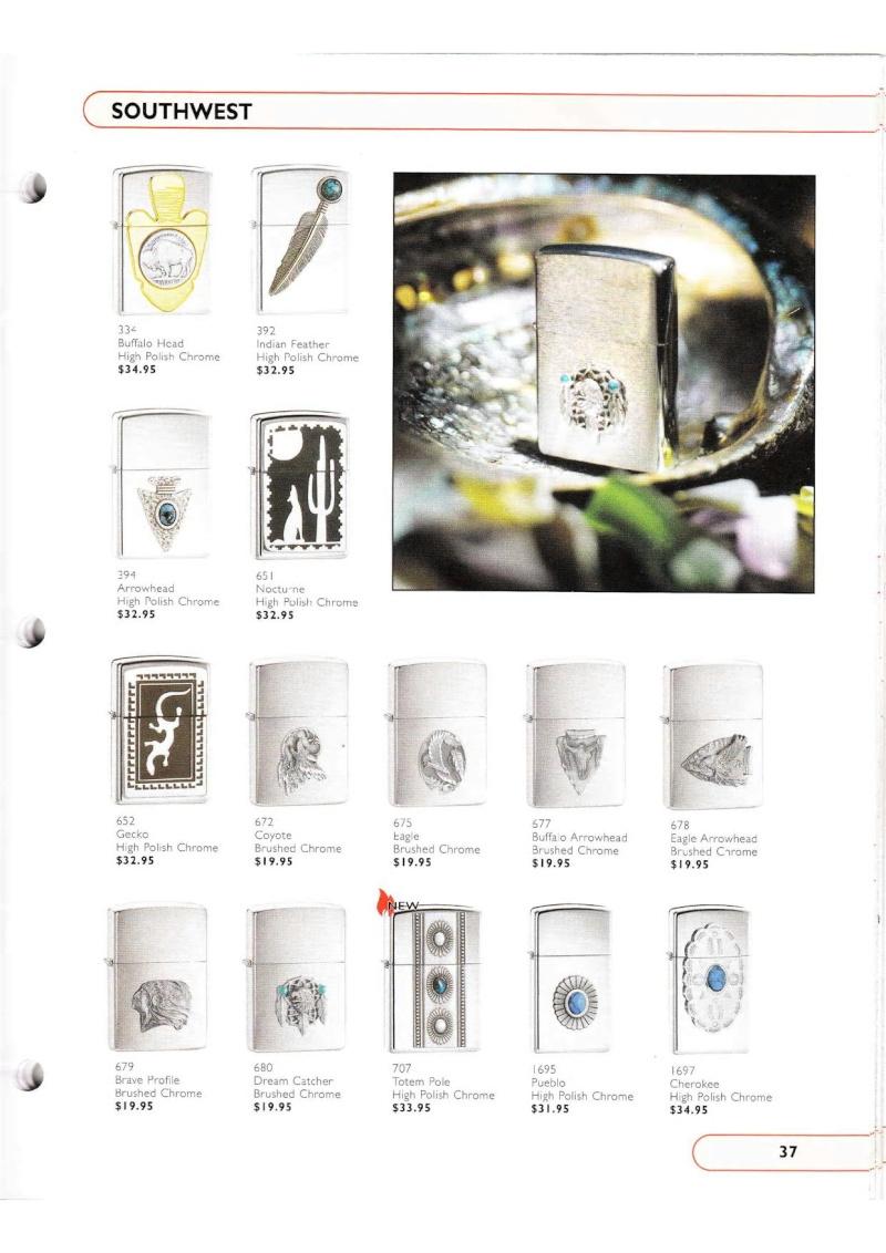Catalogue ZIPPO Collection 2002 (version américaine) 3715