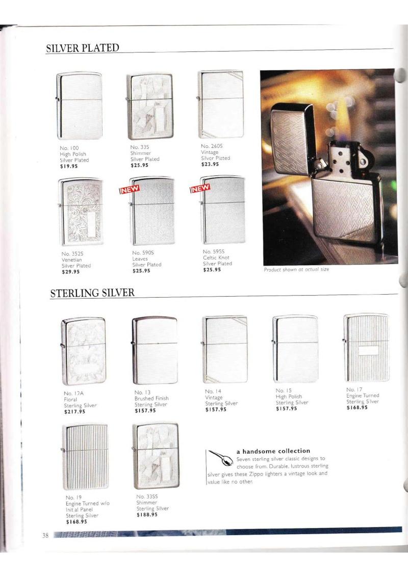 Catalogue ZIPPO Collection 2000 (version américaine) 3814