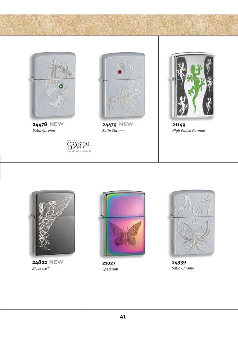 Catalogue ZIPPO 2010 Complete line (version américaine) 4114