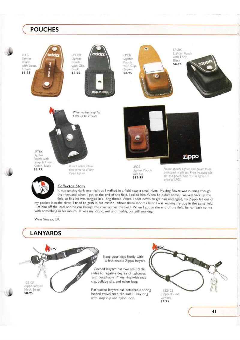 Catalogue ZIPPO Collection 2002 (version américaine) 4116