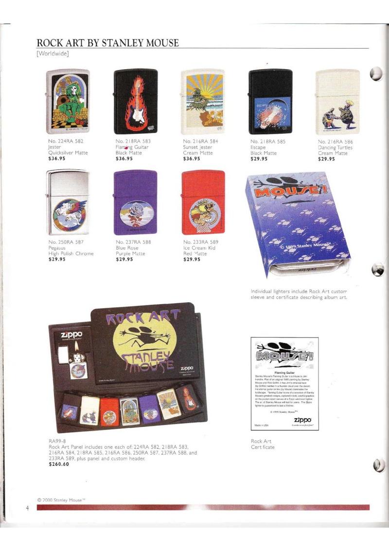 Catalogue ZIPPO Collection 2000 (version américaine) 414