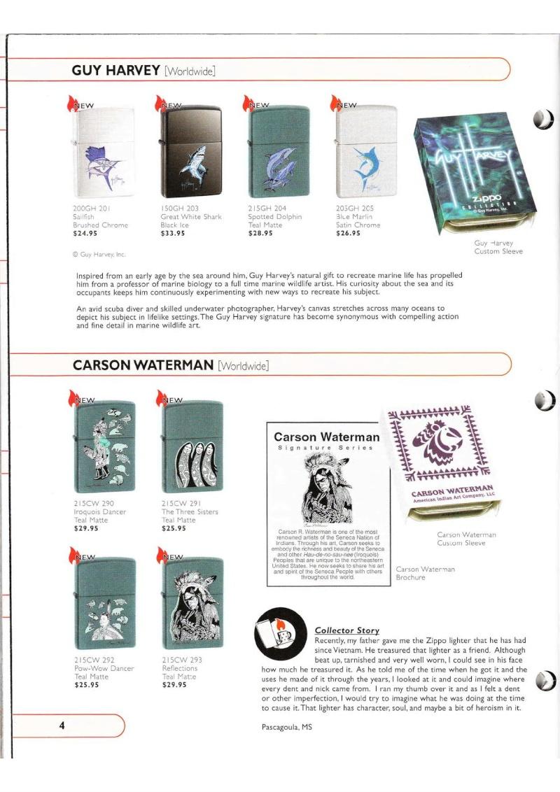 Catalogue ZIPPO Collection 2002 (version américaine) 415