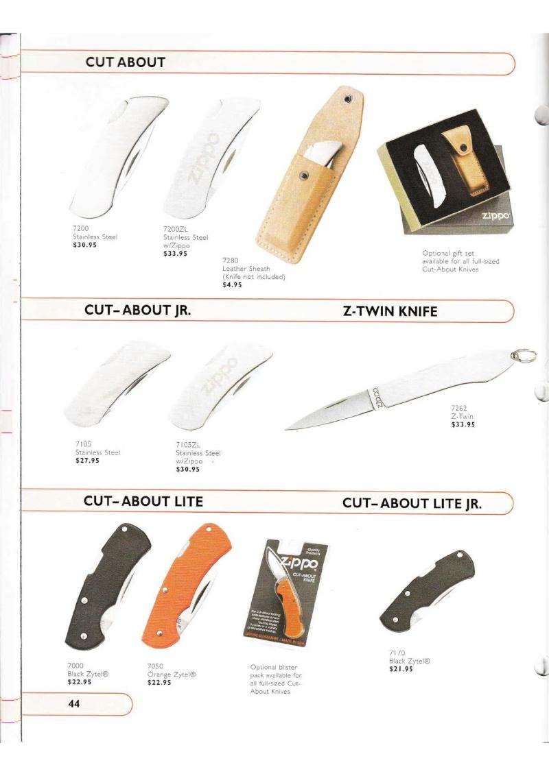 Catalogue ZIPPO Collection 2002 (version américaine) 4414