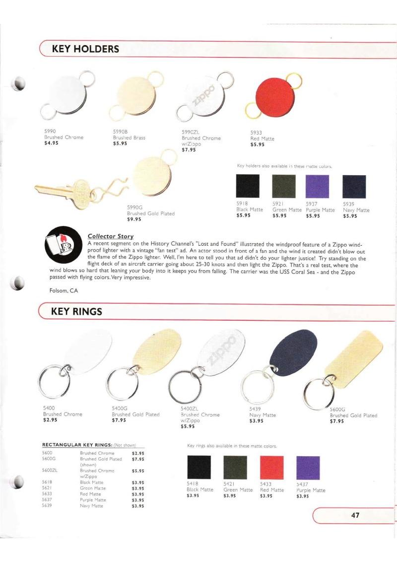 Catalogue ZIPPO Collection 2002 (version américaine) 4714