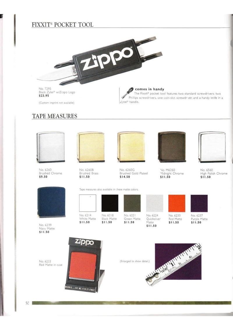 Catalogue ZIPPO Collection 2000 (version américaine) 5013