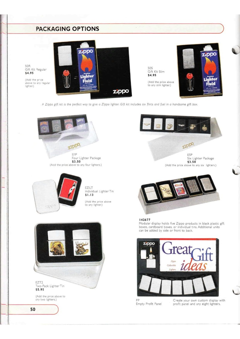 Catalogue ZIPPO Collection 2002 (version américaine) 5014