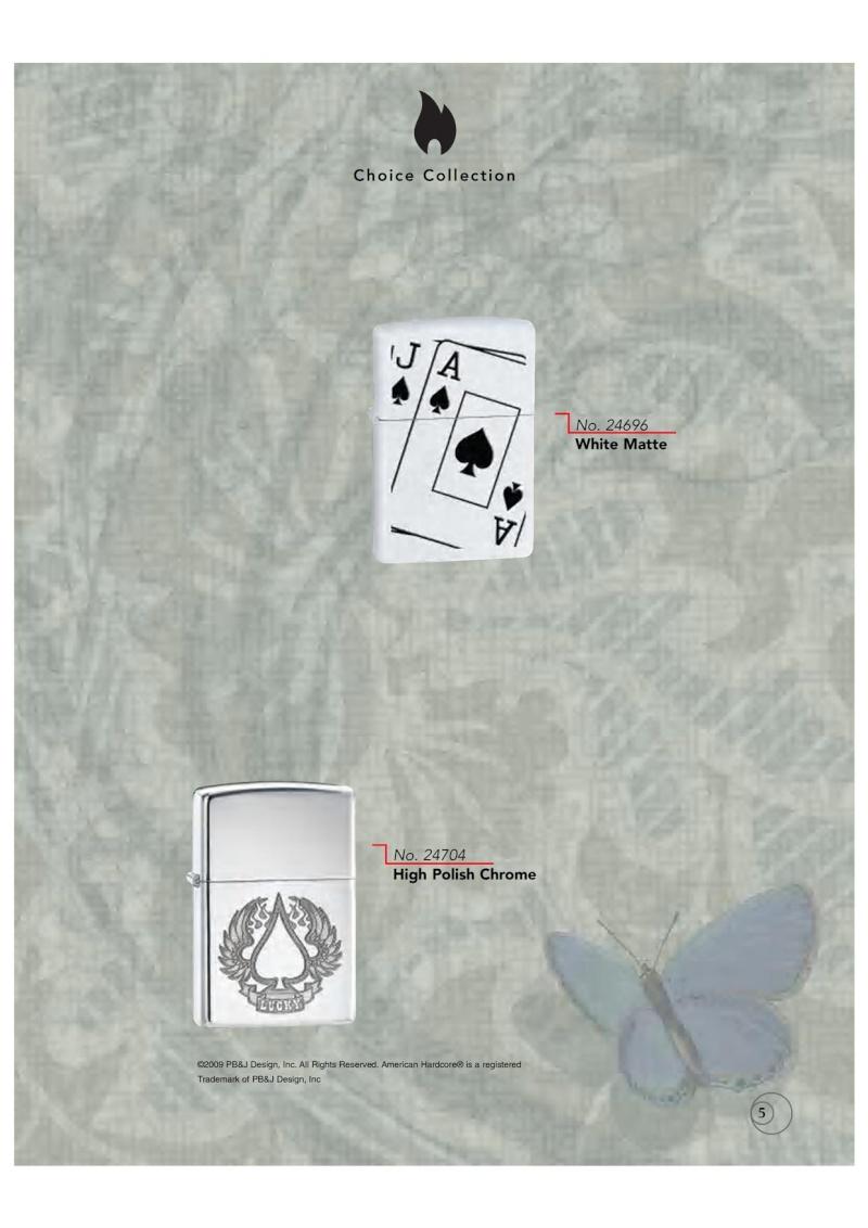 Catalogue ZIPPO 2009/10 Choice (version américaine) 511