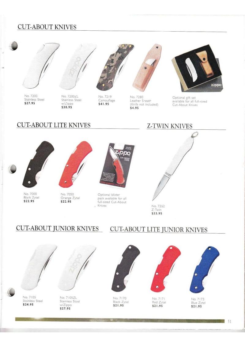 Catalogue ZIPPO Collection 2000 (version américaine) 5113