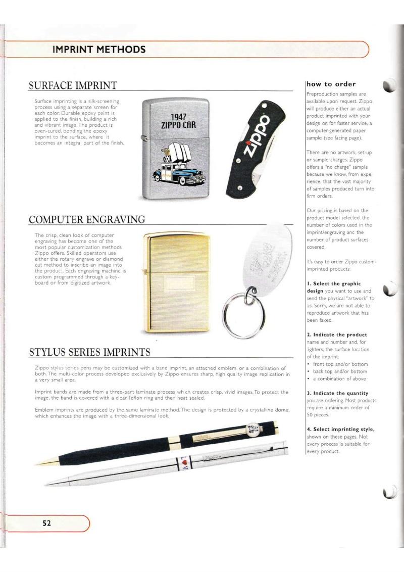 Catalogue ZIPPO Collection 2002 (version américaine) 5214