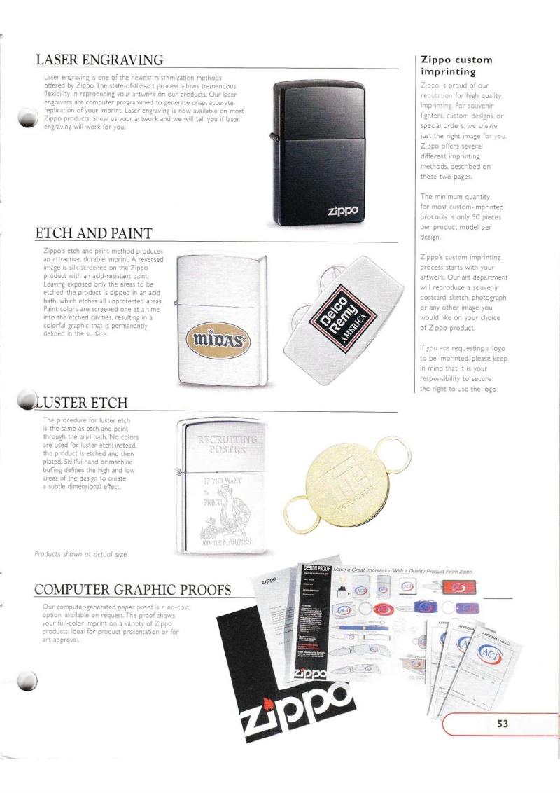 Catalogue ZIPPO Collection 2002 (version américaine) 5314