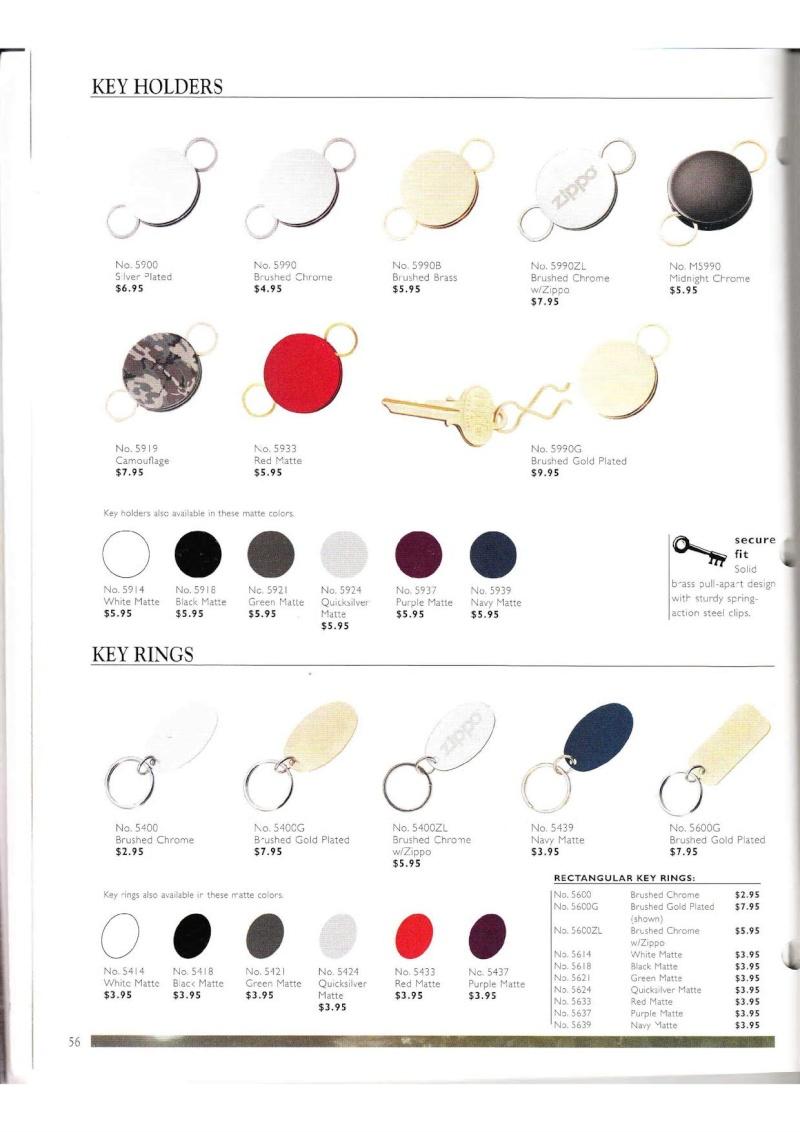 Catalogue ZIPPO Collection 2000 (version américaine) 5613
