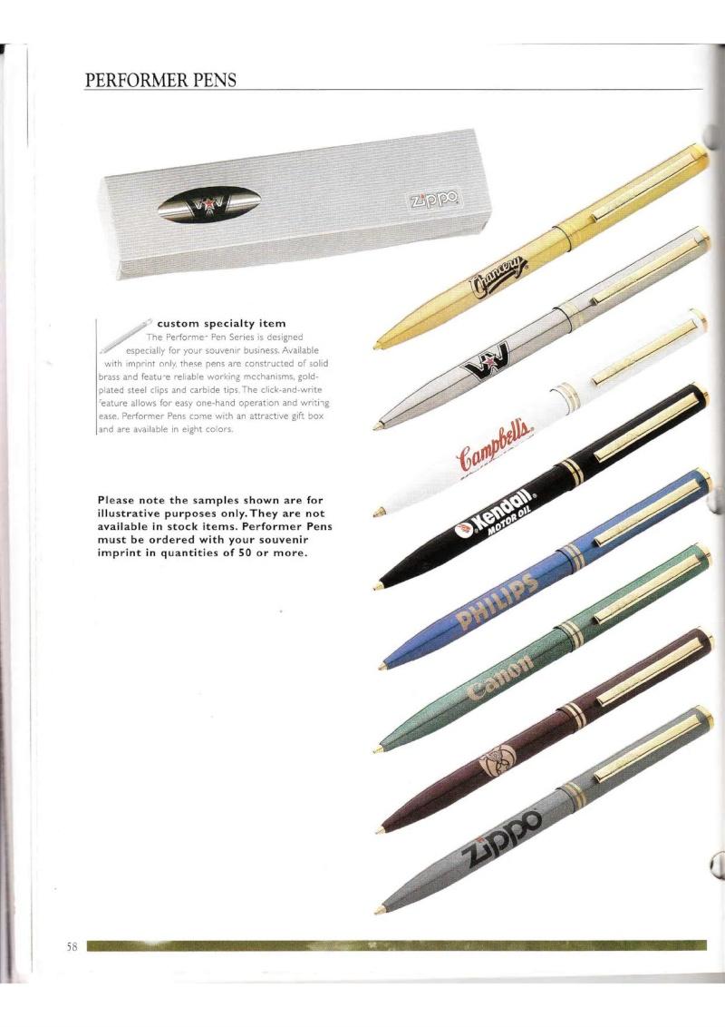 Catalogue ZIPPO Collection 2000 (version américaine) 5813