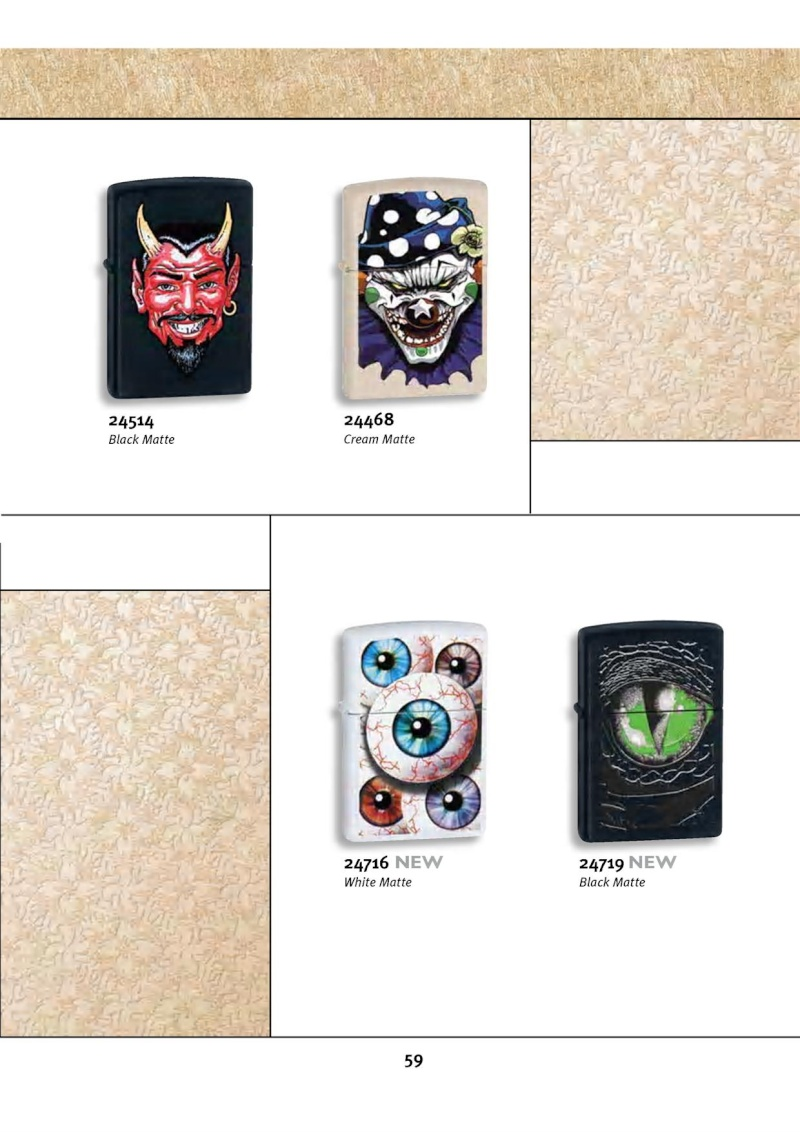 Catalogue ZIPPO 2010 Complete line (version américaine) 5912
