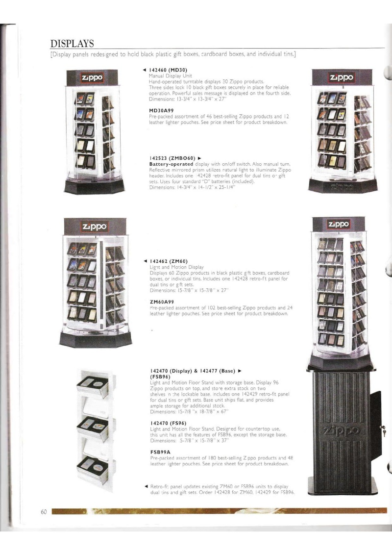 Catalogue ZIPPO Collection 2000 (version américaine) 6013