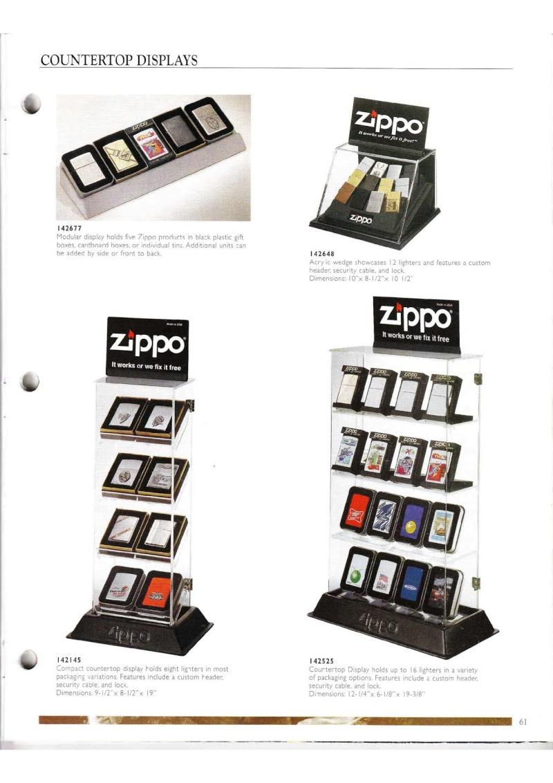 Catalogue ZIPPO Collection 2000 (version américaine) 6112