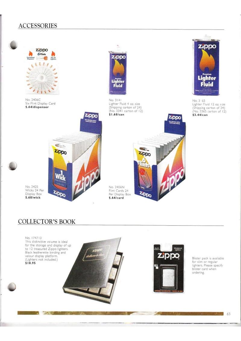 Catalogue ZIPPO Collection 2000 (version américaine) 6312
