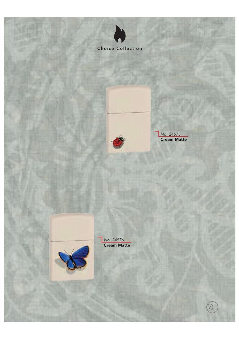 Catalogue ZIPPO 2009/10 Choice (version américaine) 711