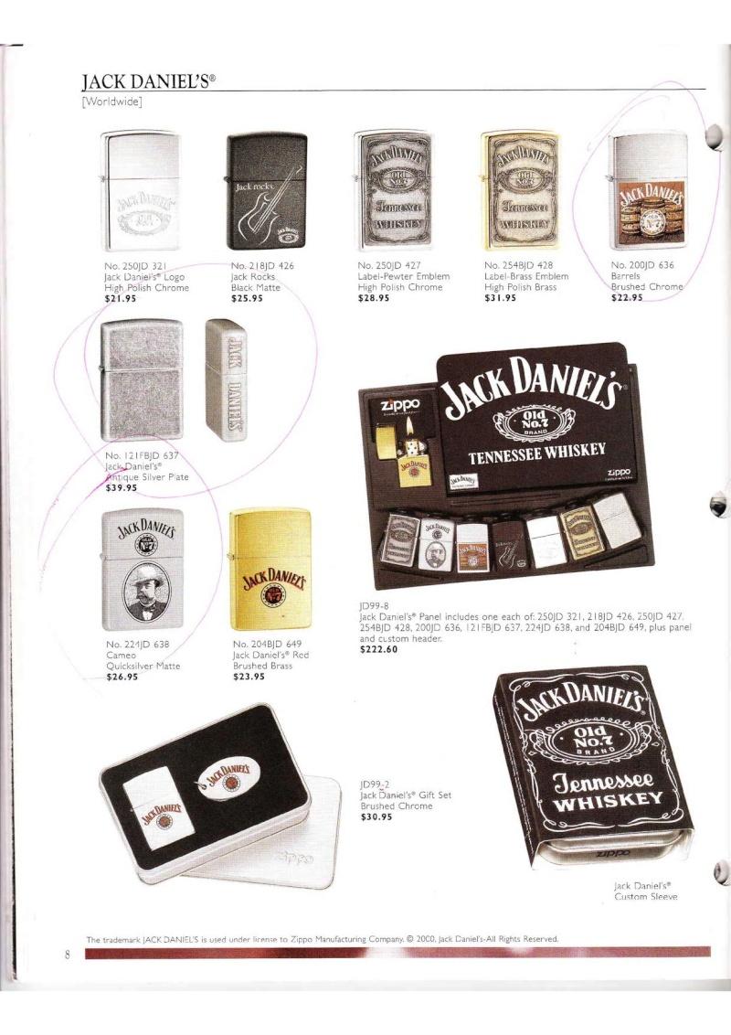 Catalogue ZIPPO Collection 2000 (version américaine) 814
