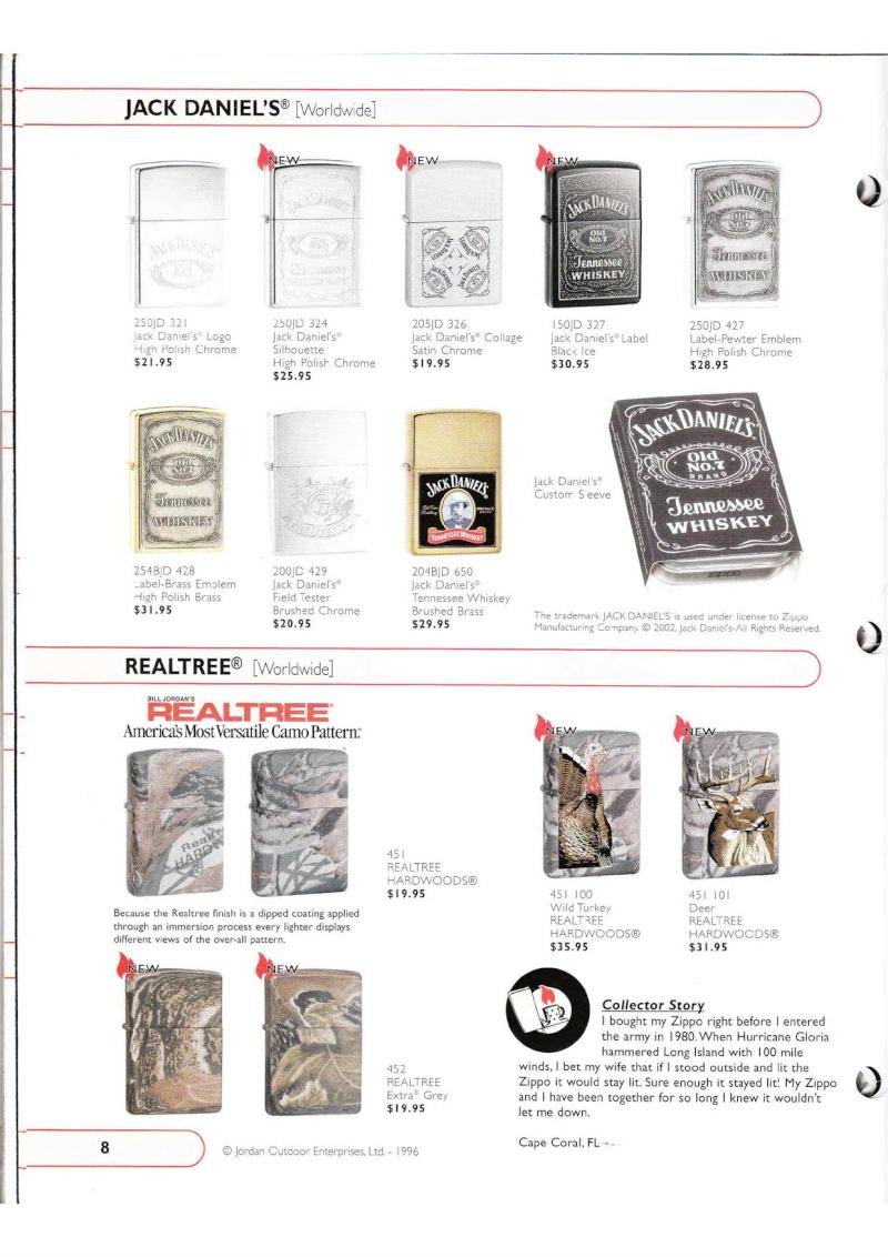 Catalogue ZIPPO Collection 2002 (version américaine) 815