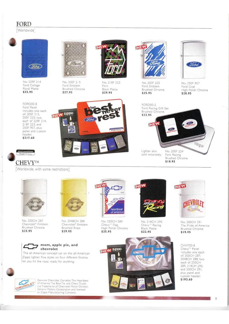 Catalogue ZIPPO Collection 2000 (version américaine) 914