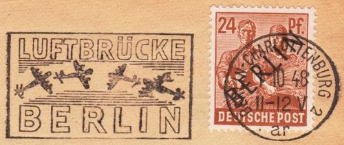 Brief 100 Tage Luftbrücke Berlin 1948_111