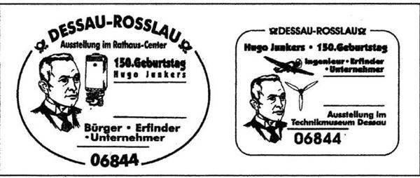 Erstflüge, Sonderflüge und neue Ballonpost - Seite 5 Junker10