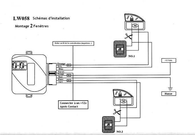 comment brancher un module window roll up sur e36