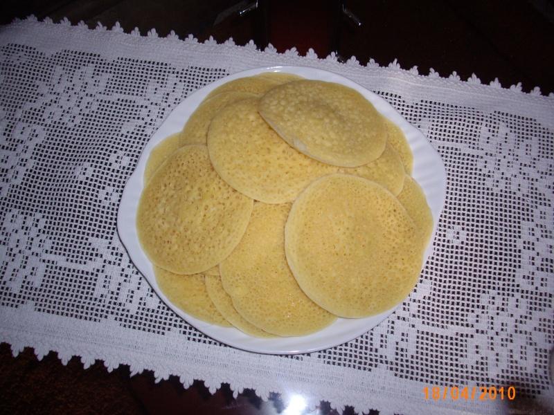 Baghrir ou Beghrir ou B'ghrir marocain/Pancakes marocains/Crêpes marocaines aux mille trous/Version Rapide Photo_29