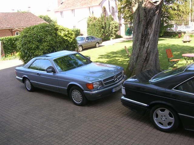 Dimanche 18 avril 2010 : Rencontre Mercedes W 126 proposée par le Club Mercedes Benz de France - Page 3 Dscn4262