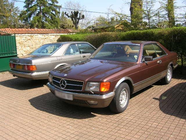 Dimanche 18 avril 2010 : Rencontre Mercedes W 126 proposée par le Club Mercedes Benz de France - Page 3 Dscn4265