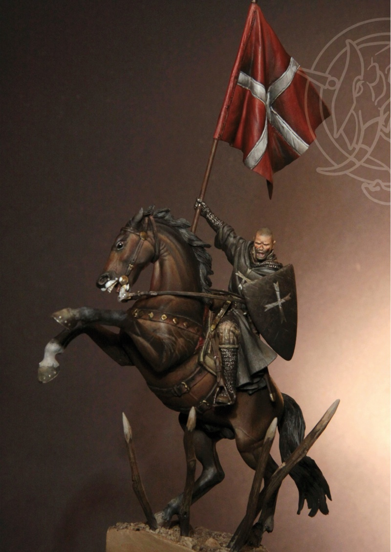 Brother Knight of the Hospitaler Order – Early XIII C. (54mm) Osp-1w10