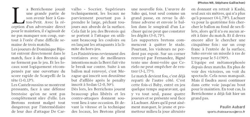 Berrichonne de Chateauroux - Page 3 210
