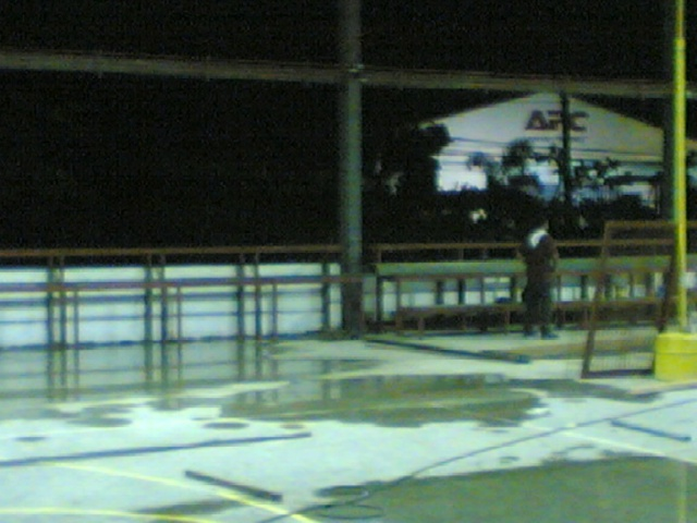 Bleacher Bench and Epoxy Painting for Covered Court at APC-Cav2 Image011