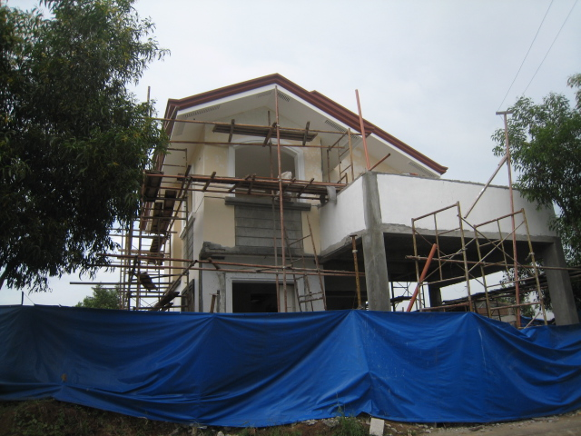 Two Storey Residential House (Metrogate, Trece Martirez City) - On-going Img_5013