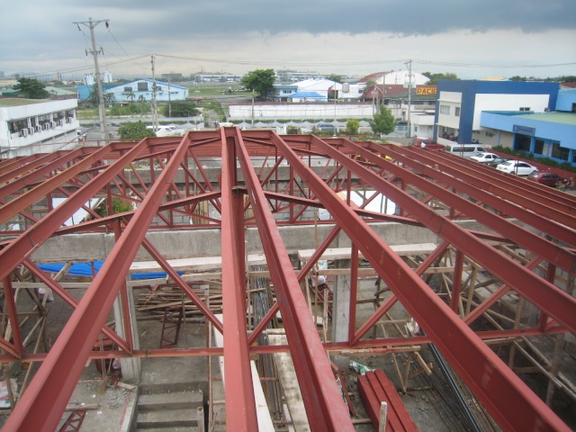 LTO Pasay New Building Roof Framing Img_6315