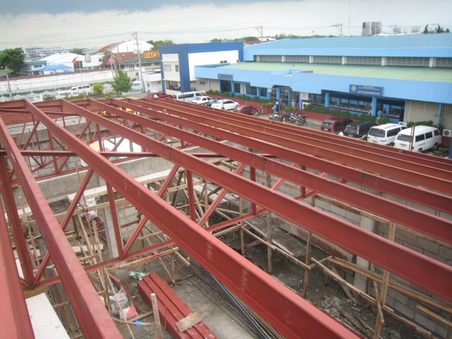 LTO Pasay New Building Roof Framing Img_6316