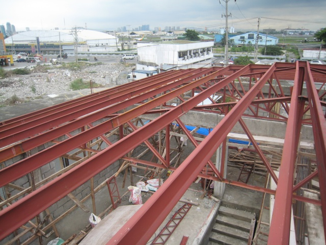 LTO Pasay New Building Roof Framing Img_6317